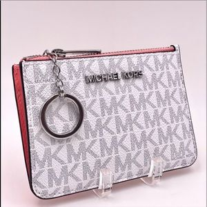 Michael Kors Small Coin Pouch Wallet Card Holder